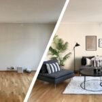 Før og etter boligstyling